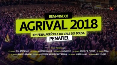 Cartaz musical AGRIVAL 2018